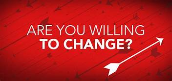 The Willingness to Change. – The Prepared Student